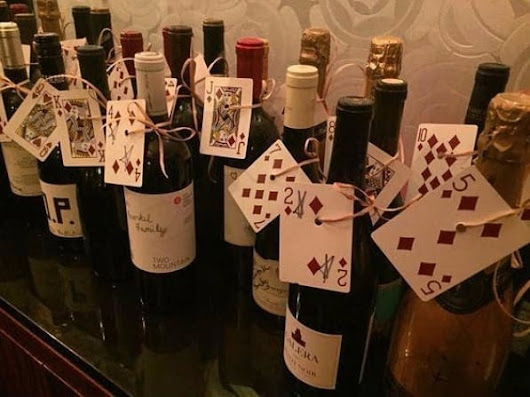How to Use Playing Cards or a Spinning Wheel in a Wine Pull Fundraiser - Murad Auctions