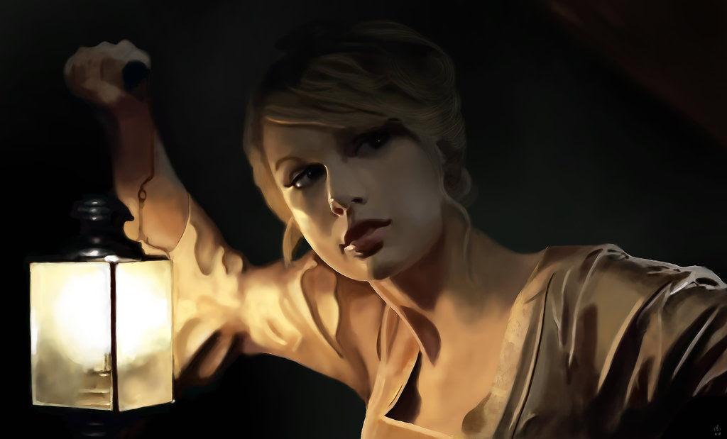 40 obras-primas da pintura digital de celebridades 17