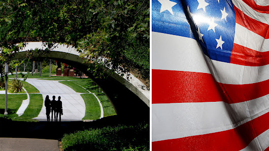 Does UC Irvine hate the American flag? Not exactly