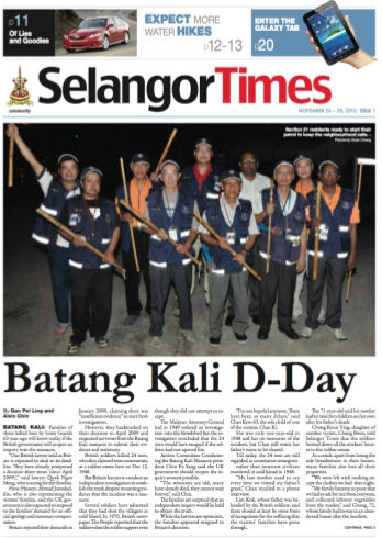 Selangor Times puts a test of free media to the government