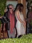 Johnny Depp and Amber Heard Dinner