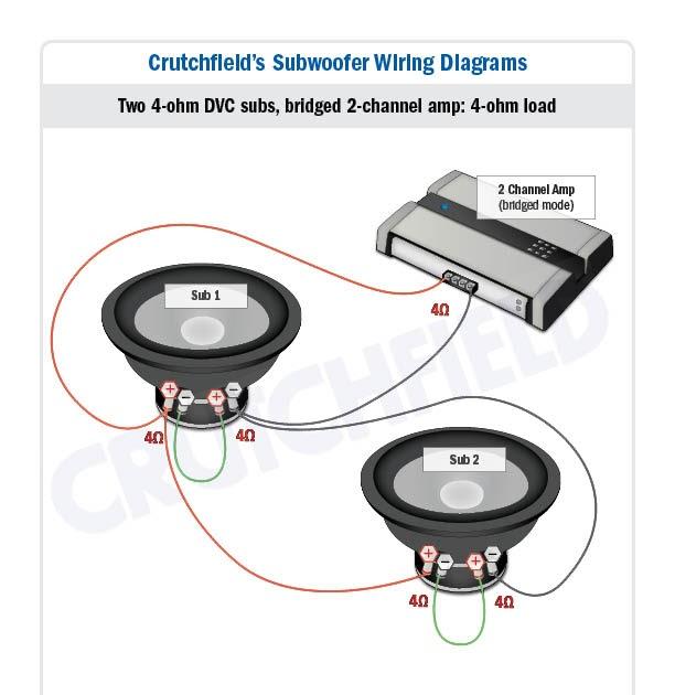 [ DIAGRAM ] With Dual 4 Ohm Mono Amp Wiring Diagram FULL