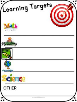 1000+ ideas about Learning Targets on Pinterest | Learning goals ...