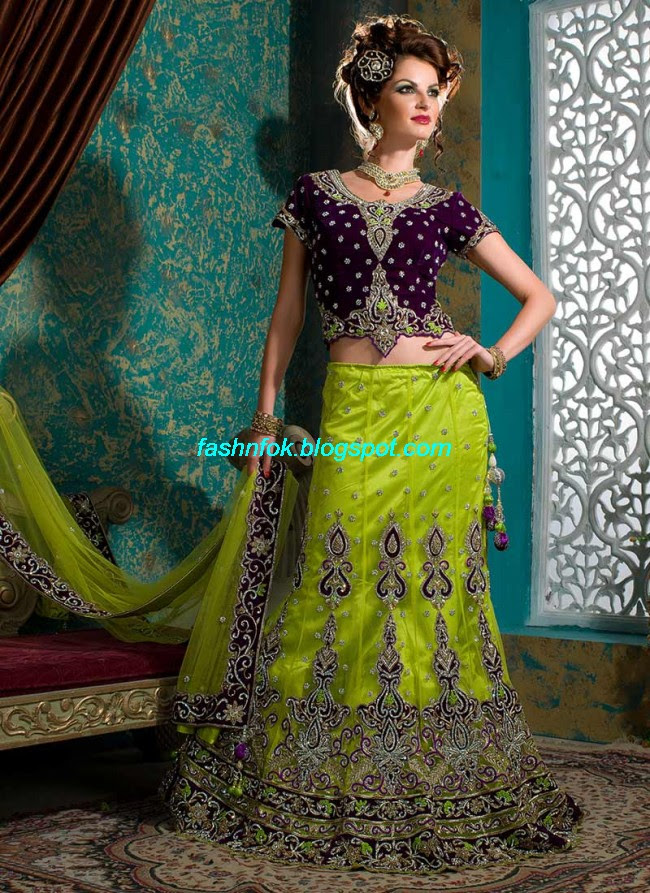 Beautiful-Cute-Girls-Wear-Bridal-Lehenga-Choli-New-Fashion-Dress-Design-2013-13