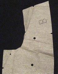Vintage Child's pattern pieces