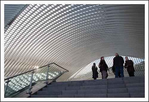 station Luik Guillemins by hans van egdom