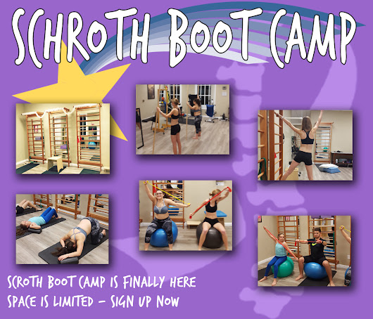 Schroth Boot Camp is coming back in August