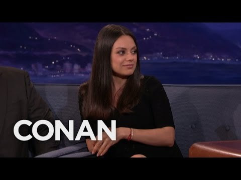 Popular Right Now l Mila Kunis & Ashton Kutcher's Wedding Rings Are From Etsy – CONAN on TBS Popular on YouTube - Mila Kunis & Ashton Kutcher's Wedding Rings Are From Etsy - CONAN on TBS via Popular Right Now By Team Coco July 28, 2016 at 09:32AM