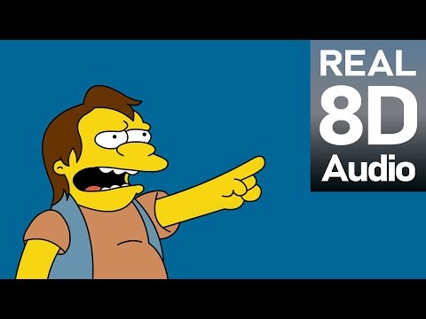 The Simpsons Theme Song | 8D TV Show Music. Use headphones.