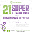 21 Ways to Get More Followers on Twitter (and other social networks)