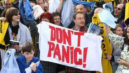 A non-hitchhiker's guide to Towel Day - BT