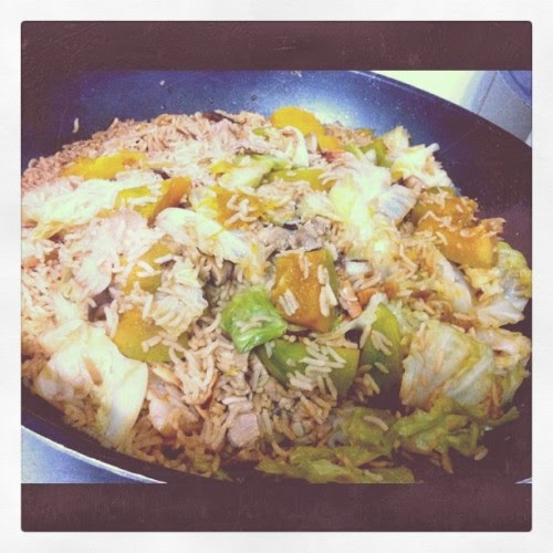 Pumpkin rice!  (Taken with instagram)