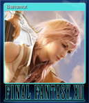 FFXIII Steam Card Bahamut