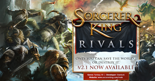 v2.1 for Sorcerer King: Rivals is Now Available!