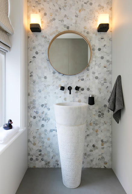How Tiny Tiles Can Elevate Your Bathroom's Style