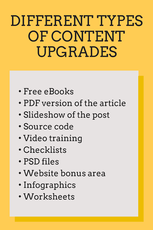 How to Generate Leads with Content Upgrades –