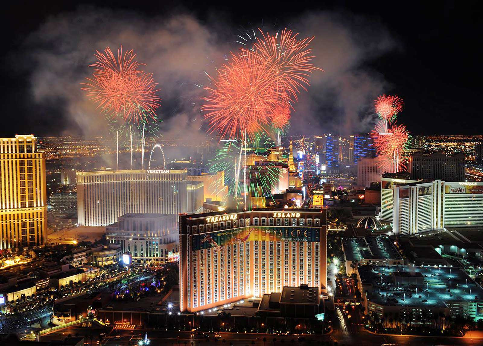 New Years Vacation Packages in Las Vegas - 2019 New Years ...