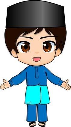 Gambar Anak Sholeh : gambar, sholeh, Gambar, Muslim, Kartun, HijabFest