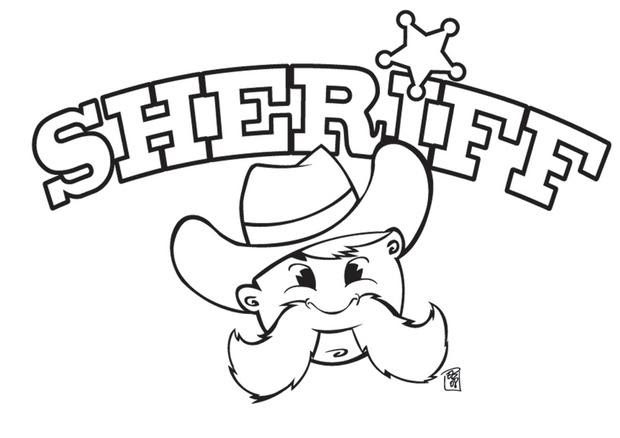 Coloriages Coloriage Du Sheriff Frhellokidscom