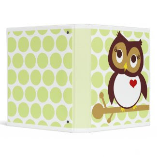 Owl Love You binder