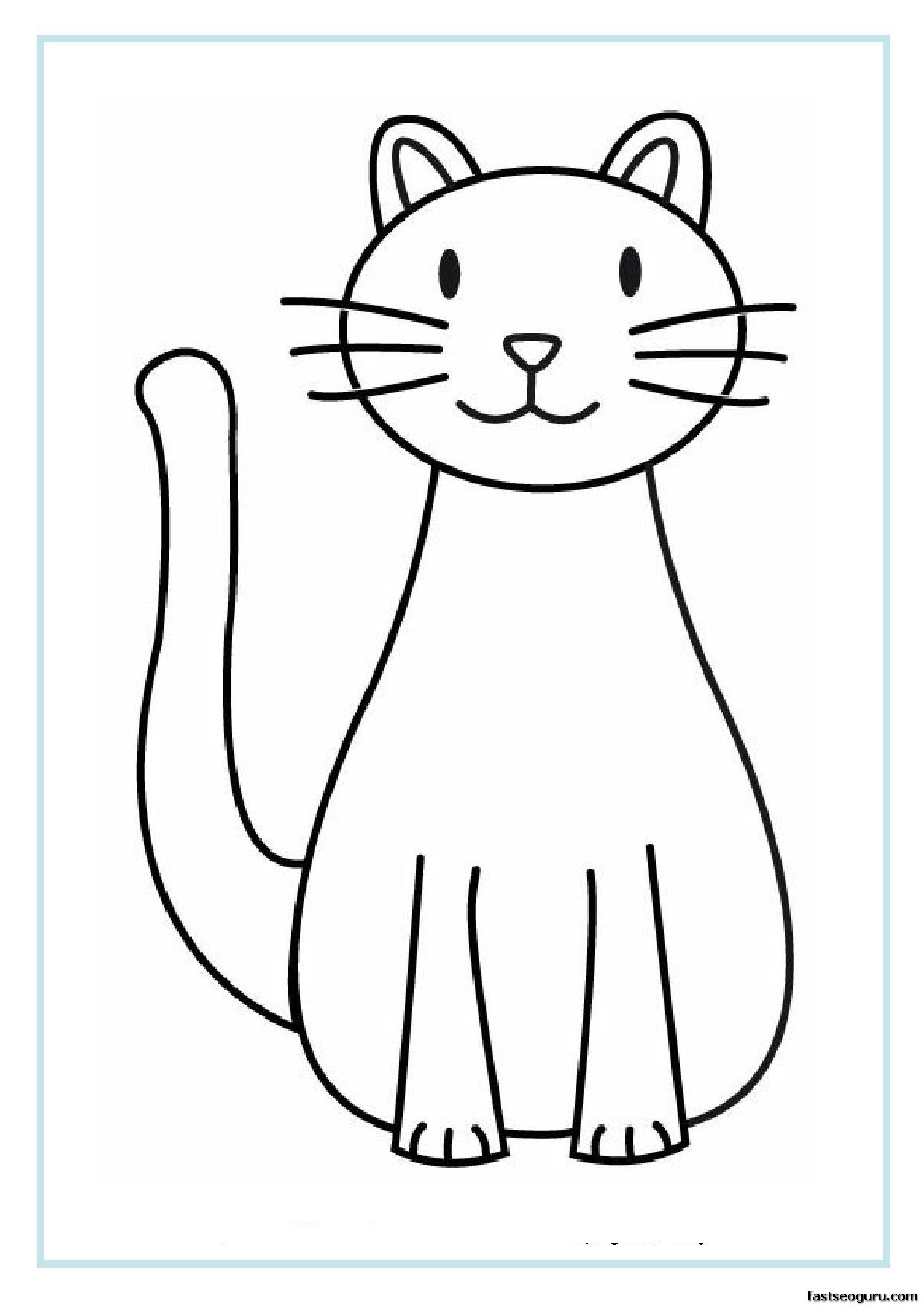 8200 Coloring Pages Printable Cat , Free HD Download