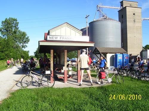 2010 Katy Trail bike ride