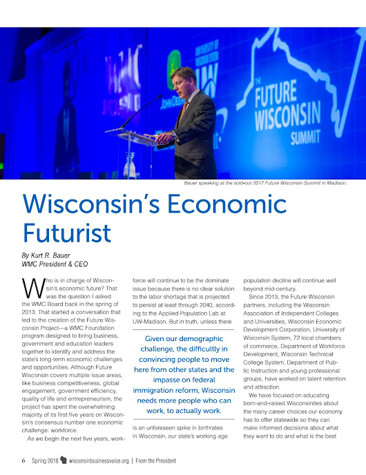 Wisconsin Business Voice - Spring 2018