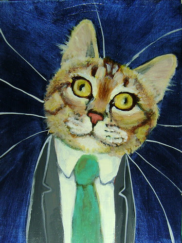 Lucas Mandrake, A Business Cat