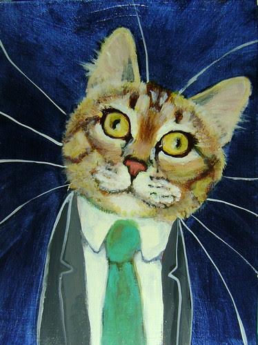 Lucas Mandrake, A Business Cat
