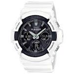 Casio Men's G-Shock Black Analog Watch GAS100B-7A