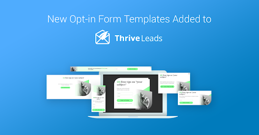 New Templates Added to Thrive Leads