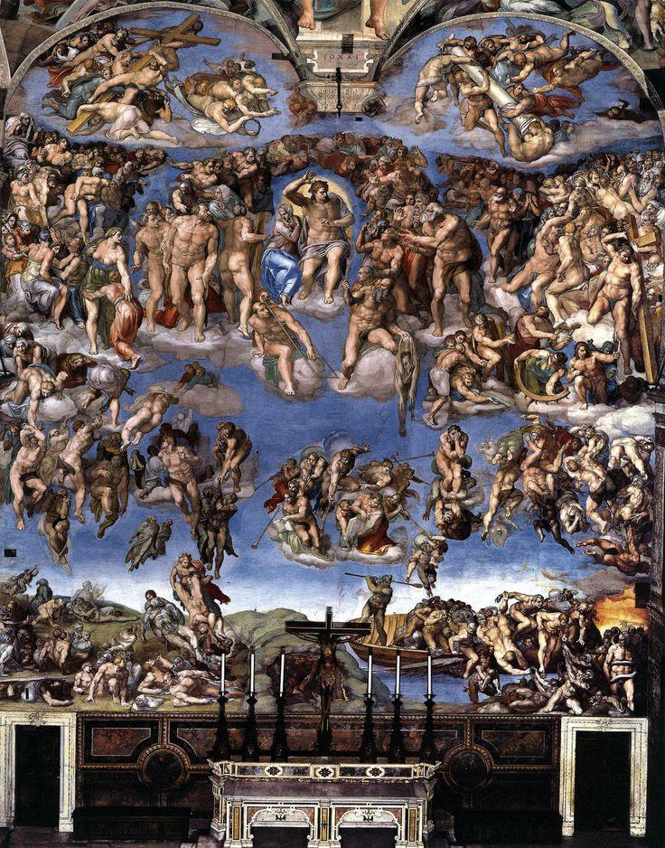 Michelangelo, Sistine Chapel, Rome