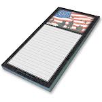 American Heroes Notepad
