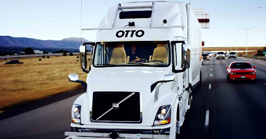 Uber's Self-Driving Truck Makes Its First Delivery: 50,000 Budweisers