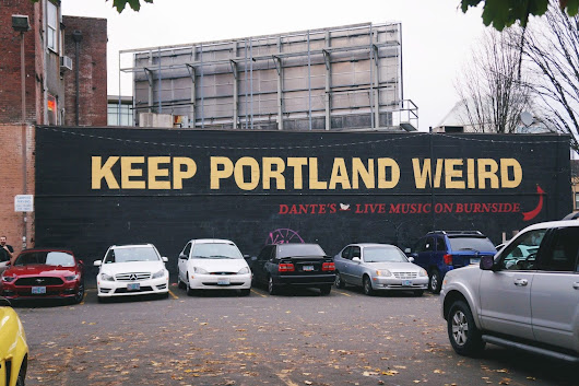 How to spend a day in Portland, Oregon - My Life from a Bag