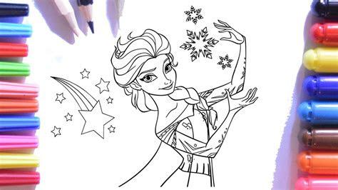 frozen elsa keceli kalem boyama sayfasi karlar uelkesi elsa