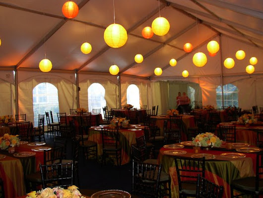 Decorated Frame Tent
