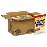 Kraft Cheez Whiz Cheese Spread Sauce (6.5 Lbs. Bags, Pack Of 6)