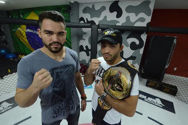 Os irmãos potiguares Patricky e Patrício Pitbull lutam em busca de mais apoio e para chegarem juntos ao topo nas lutas de MMA