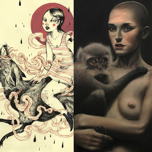 Eros and Thanatos  Featuring Nomi Chi & Pandora Young  January 8-24, 2015