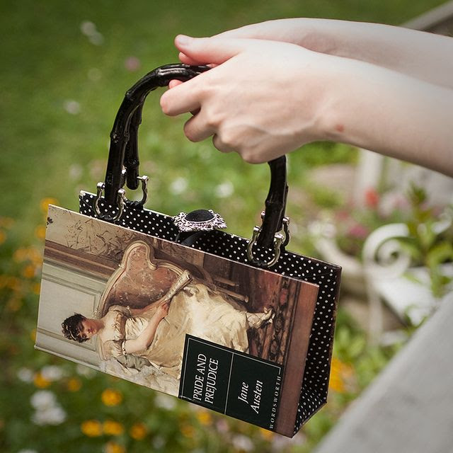 Pride and Prejudice book bag by BiblioBags.