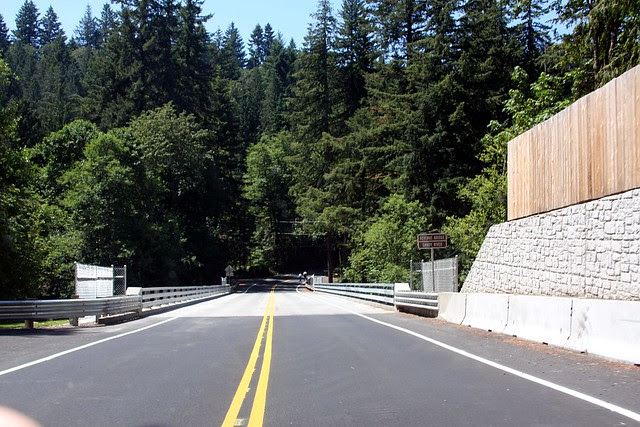 Revenue Bridge, Sandy River