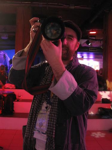 KK at the Yahoo - Flickr
