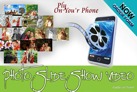 I will make Photo Slideshow Video on mobile smart phone for $5