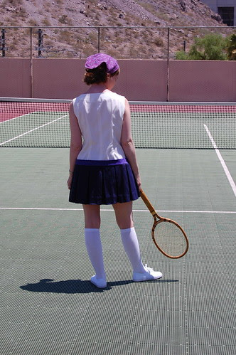 Tennis, Anyone, the vintage outfits!