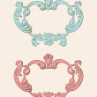 Royalty Free Stock Vector | Vintage Cottage Frames | Oh So Nifty Vintage Graphics