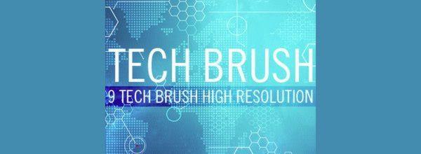 Tech Brushes - Photoshop Brushes