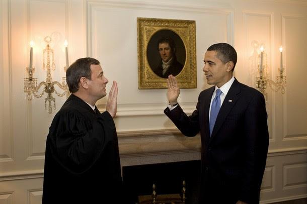 Obama sworn in as president