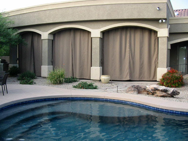 Ideas for Patio Curtains   Liberty Home Products