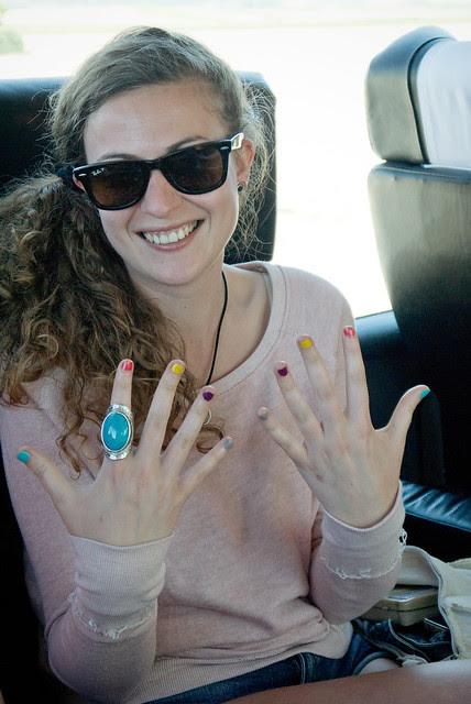 Nerea y sus uñas
